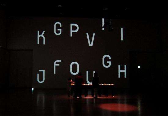 セミトラ インスタレーション展 tFont/fTime